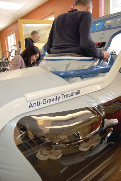 St. Luke's brings 'anti-gravity' treadmill to Ketchum