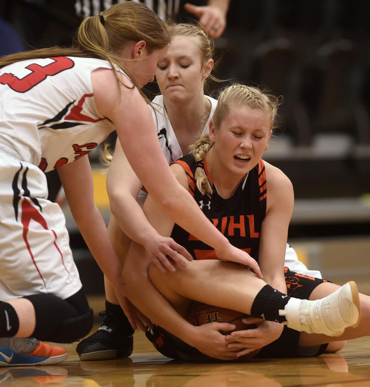 Girls Basketball - Kimberly Vs. Buhl