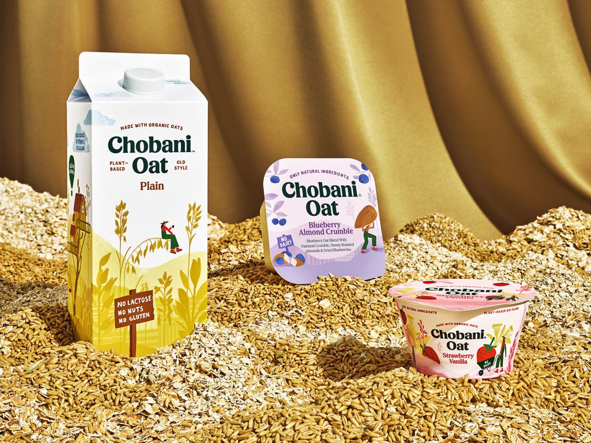Chobani oat products