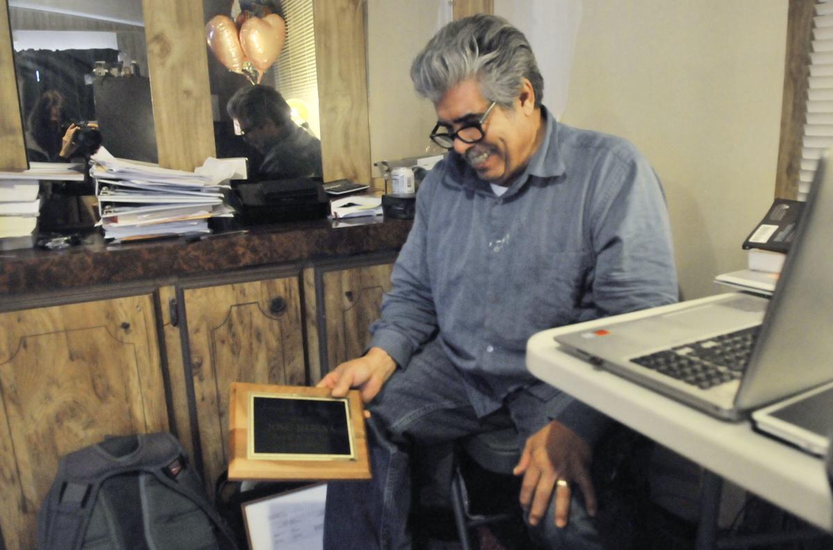 Jose Medina at his office