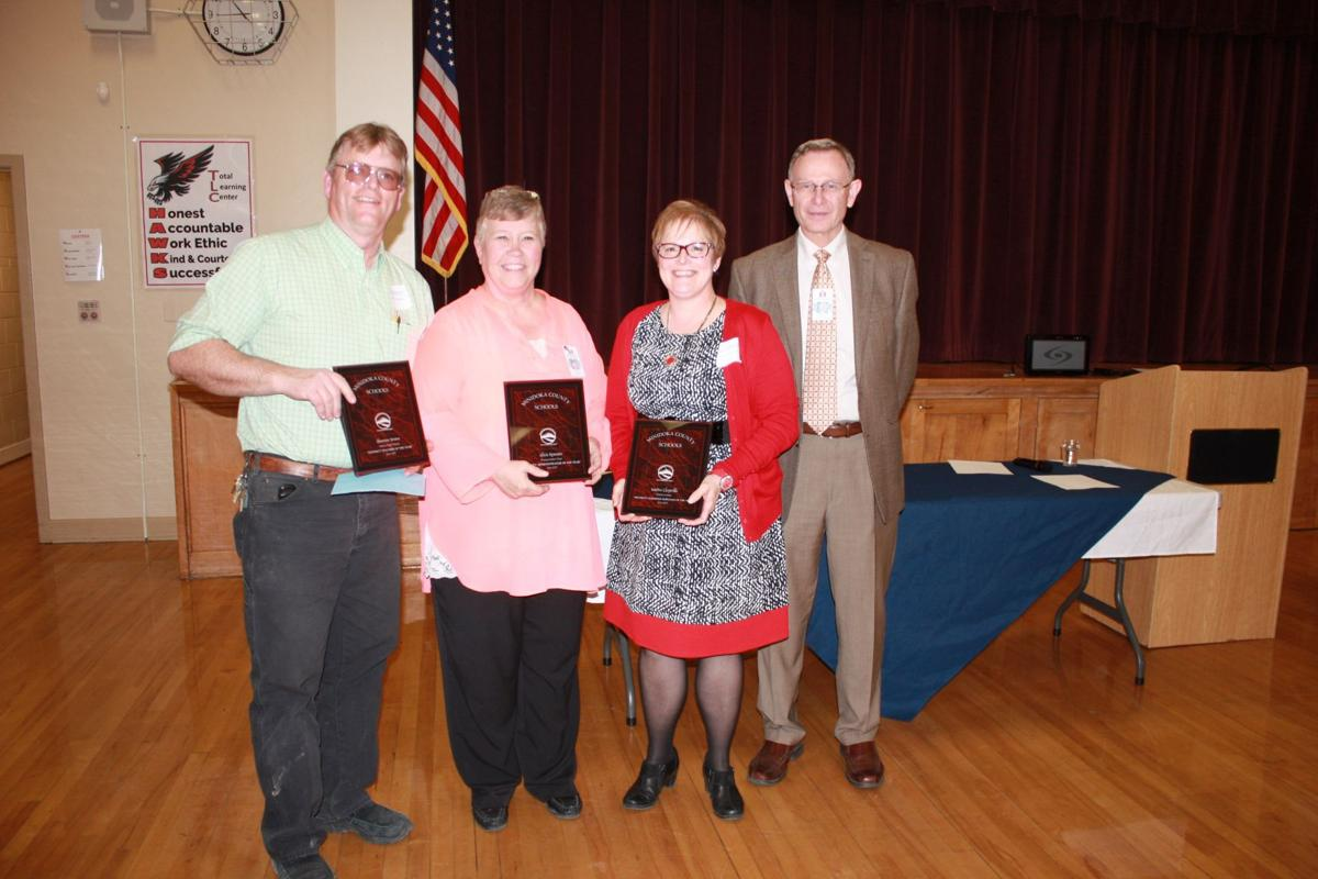 District employees honored