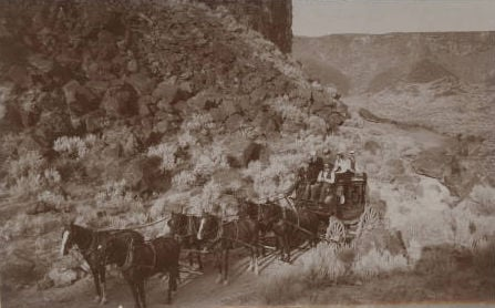 C.C. Haynes, pioneer stagecoach driver