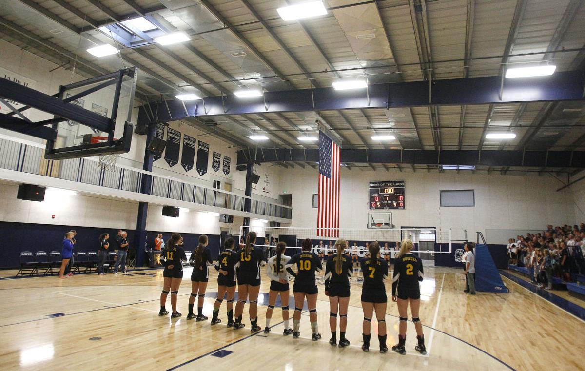 Camas County Vs. Lighthouse Christian Volleyball