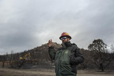 Badger Fire seeding wraps up