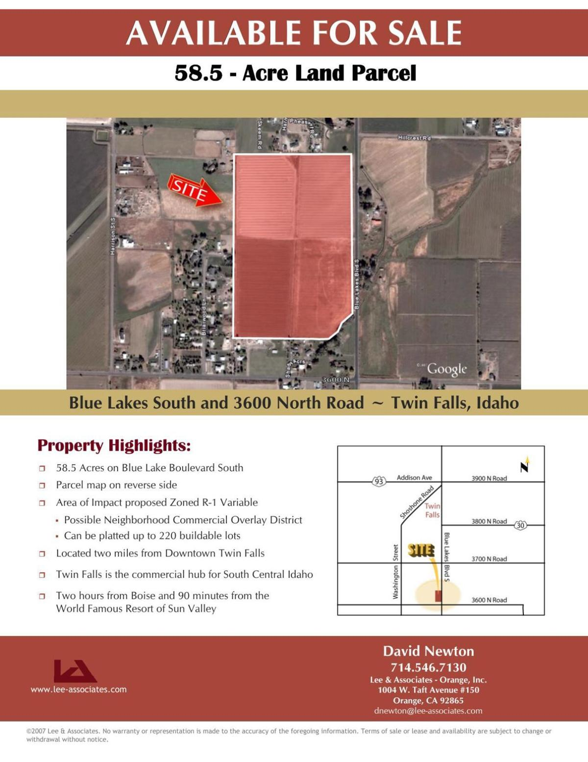 May 14 Twin Falls School District land purchase