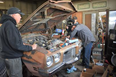Just having fun with cars': 'Roadkill' TV crew filming at Wendell