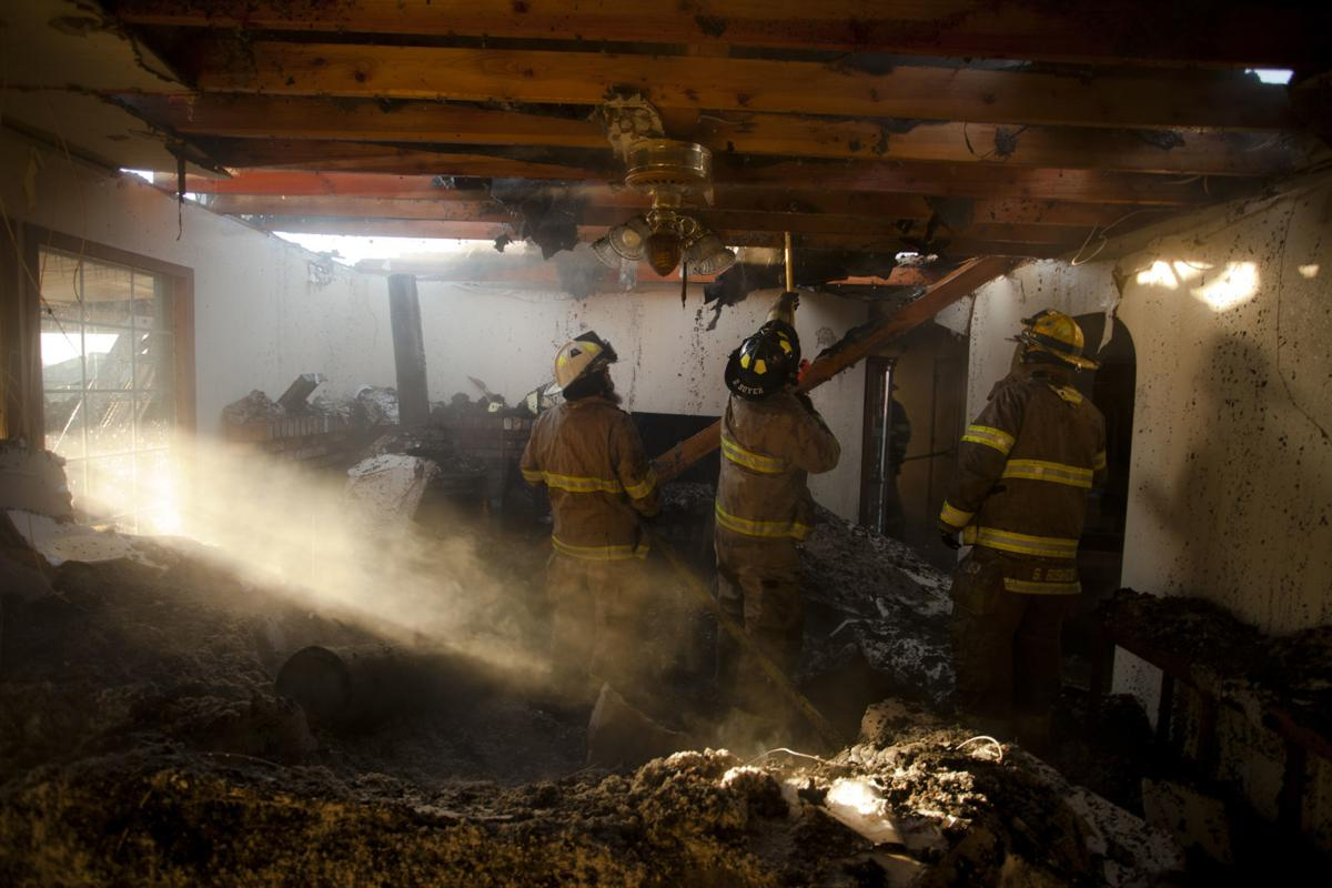 Gooding house fire 2