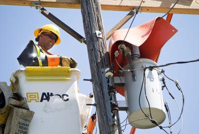 Idaho Power lineman