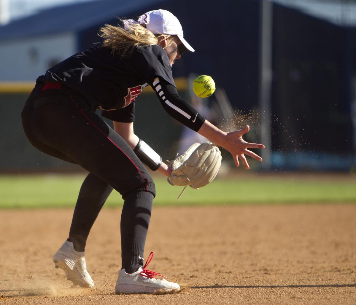 Twin Falls vs. Canyon Ridge softball
