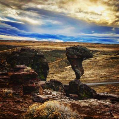 Balanced Rock - A rhyolite wonder