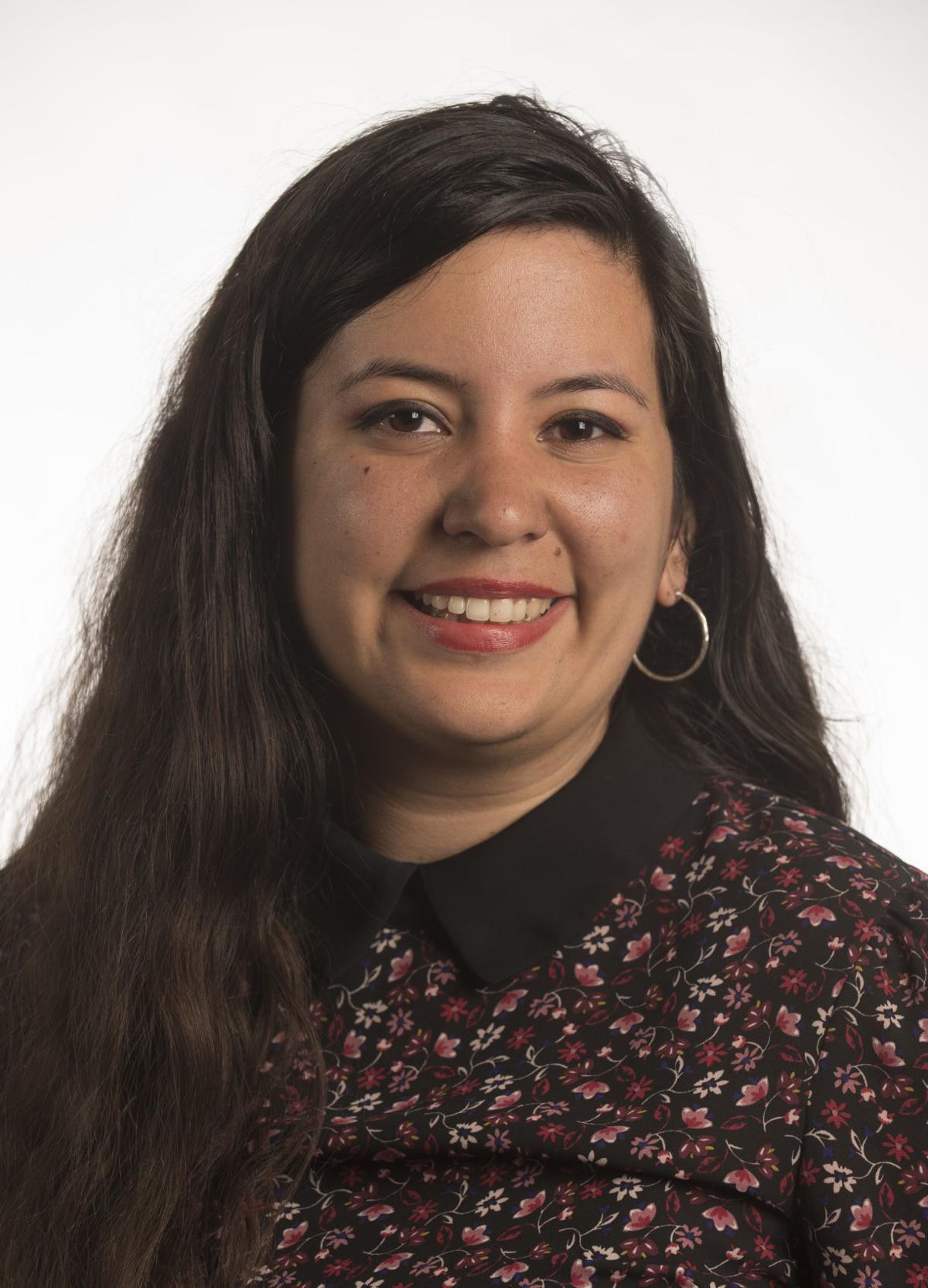 Reporter Megan Taros