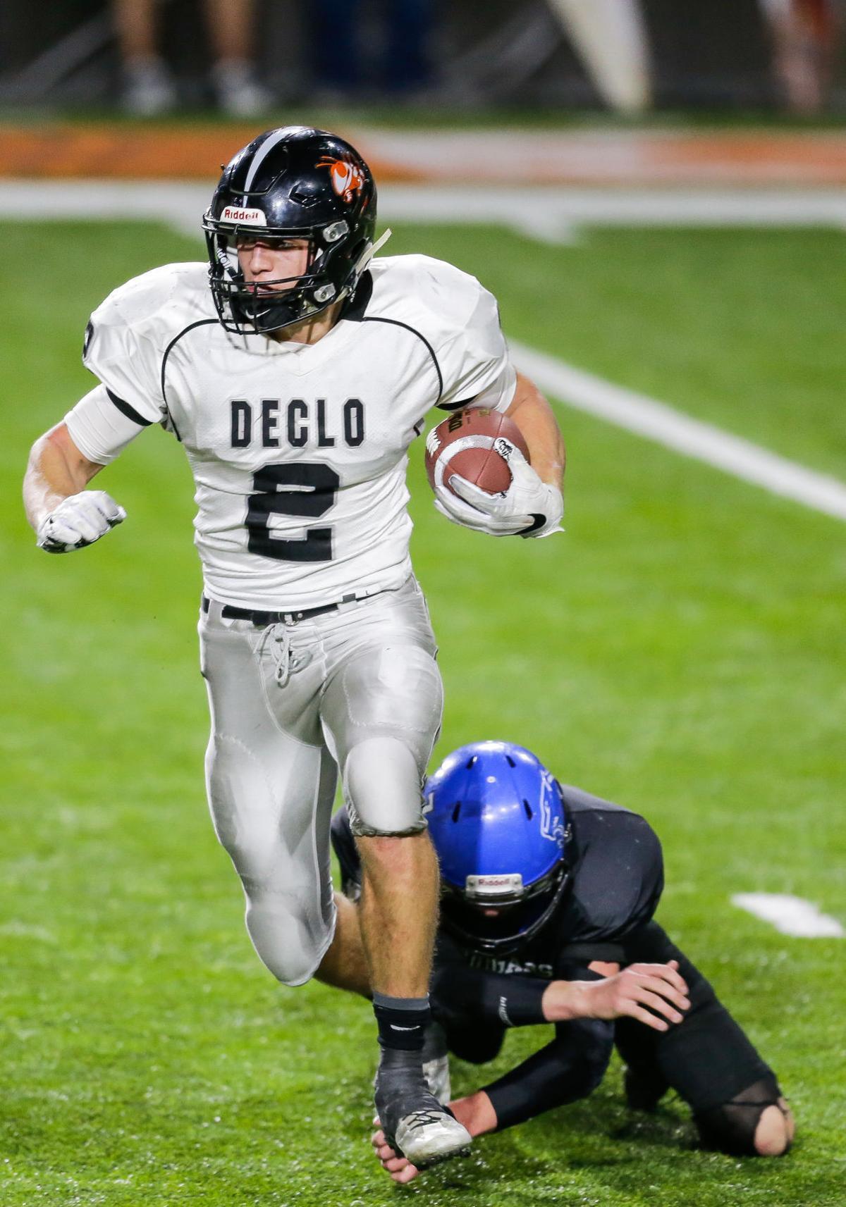 2A state football championship: Declo vs. Firth
