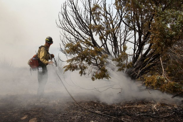 Cave Canyon Fire