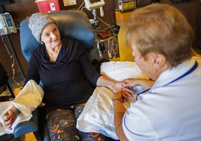 Healing touch: Massage therapy used to complement traditional cancer