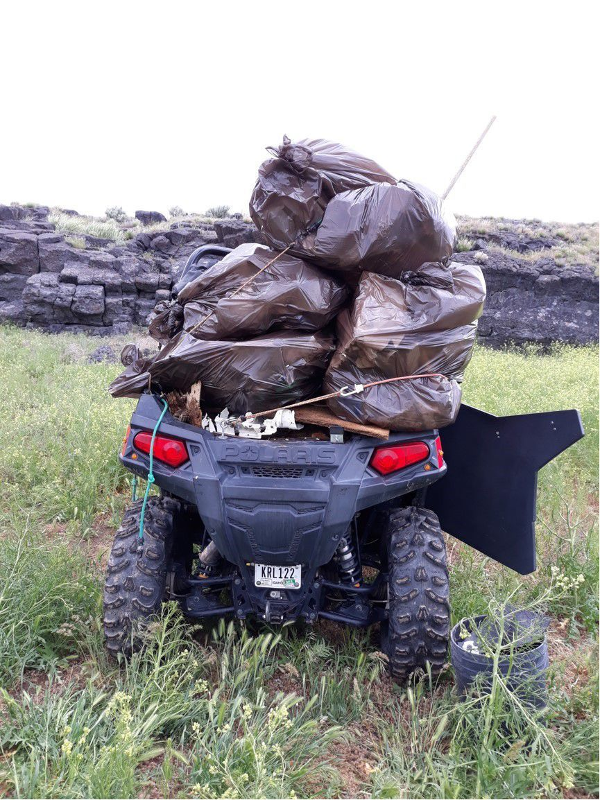 Snake River Canyons Park cleanup