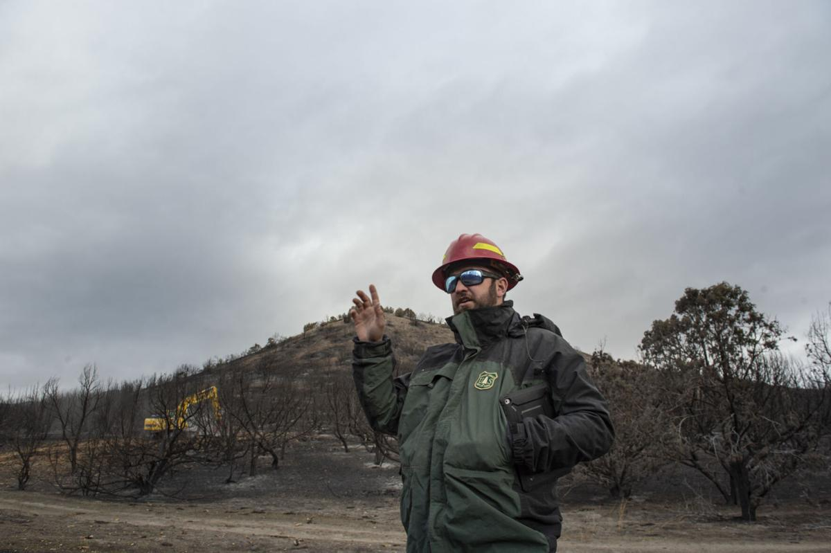 Restoration continues after South Hills Badger Fire