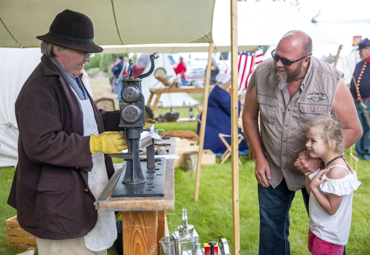 Live History Day gives community members a glimpse of the past