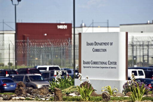 Idaho inmates sue, claiming overcrowding at state prison