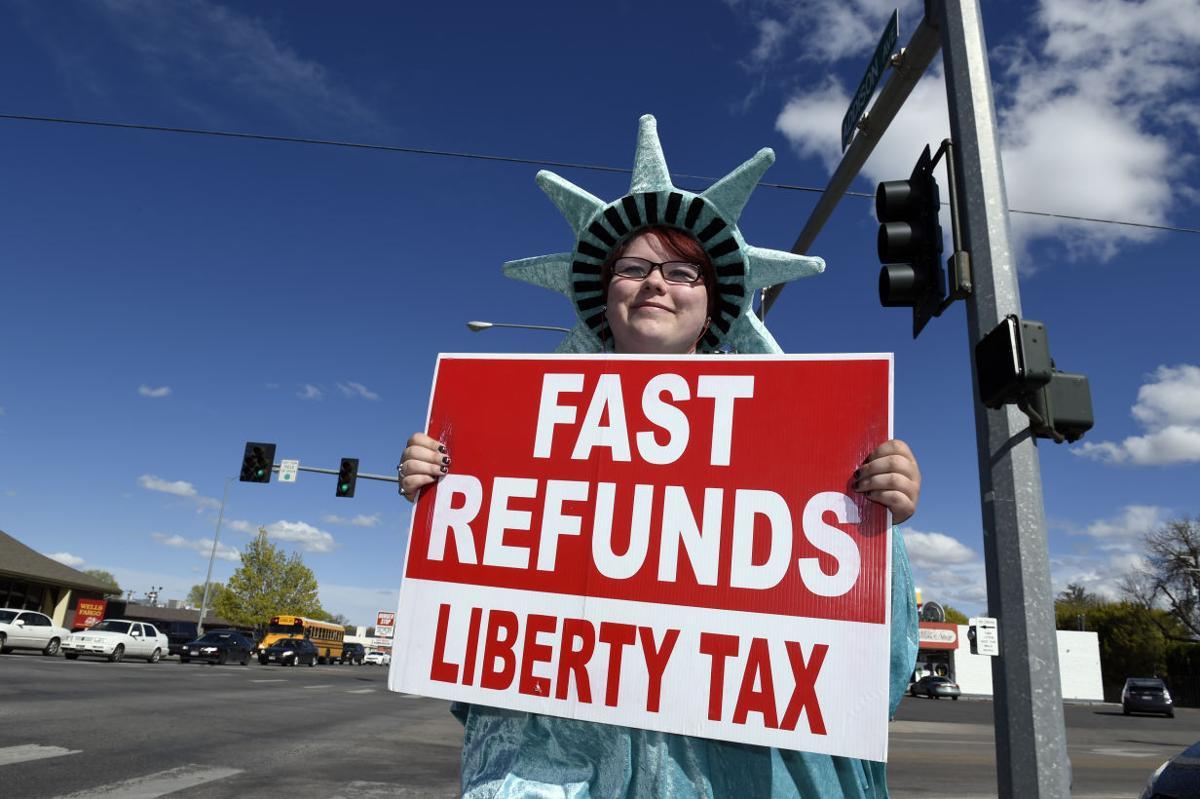 Liberty tax - tax returns