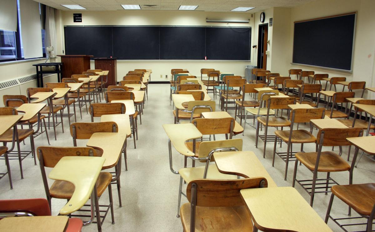 Classroom, school, class, teacher, desk