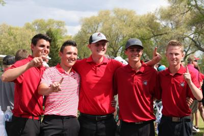 Boys 4A State Golf Champions