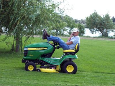 Nick Hallett tractor