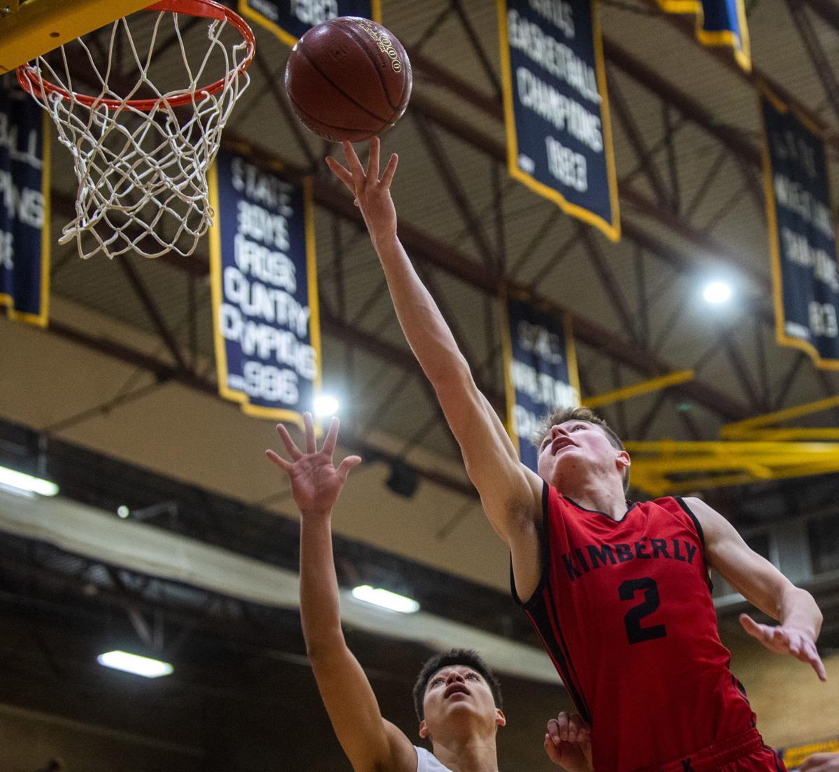 Kimberly vs. Fruitland boys state basketball