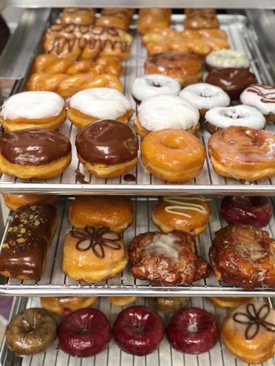 Kiwi Loco doughnuts