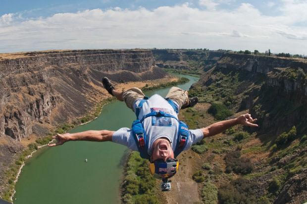 base jumping perrine bridge festival