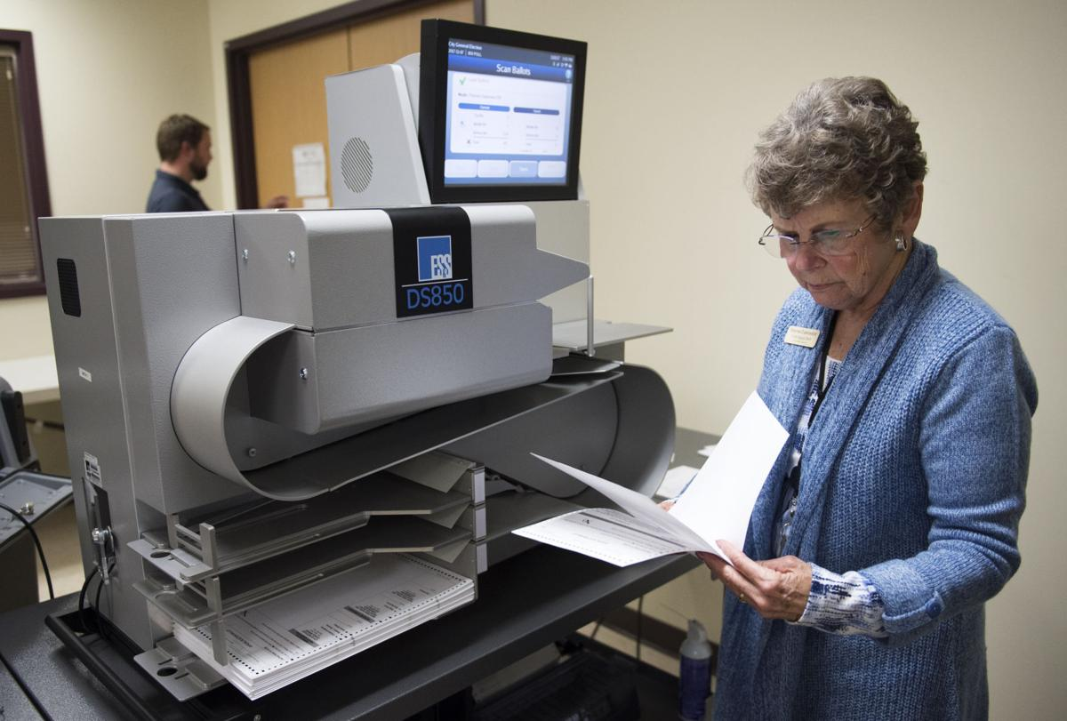 Ballot counting test