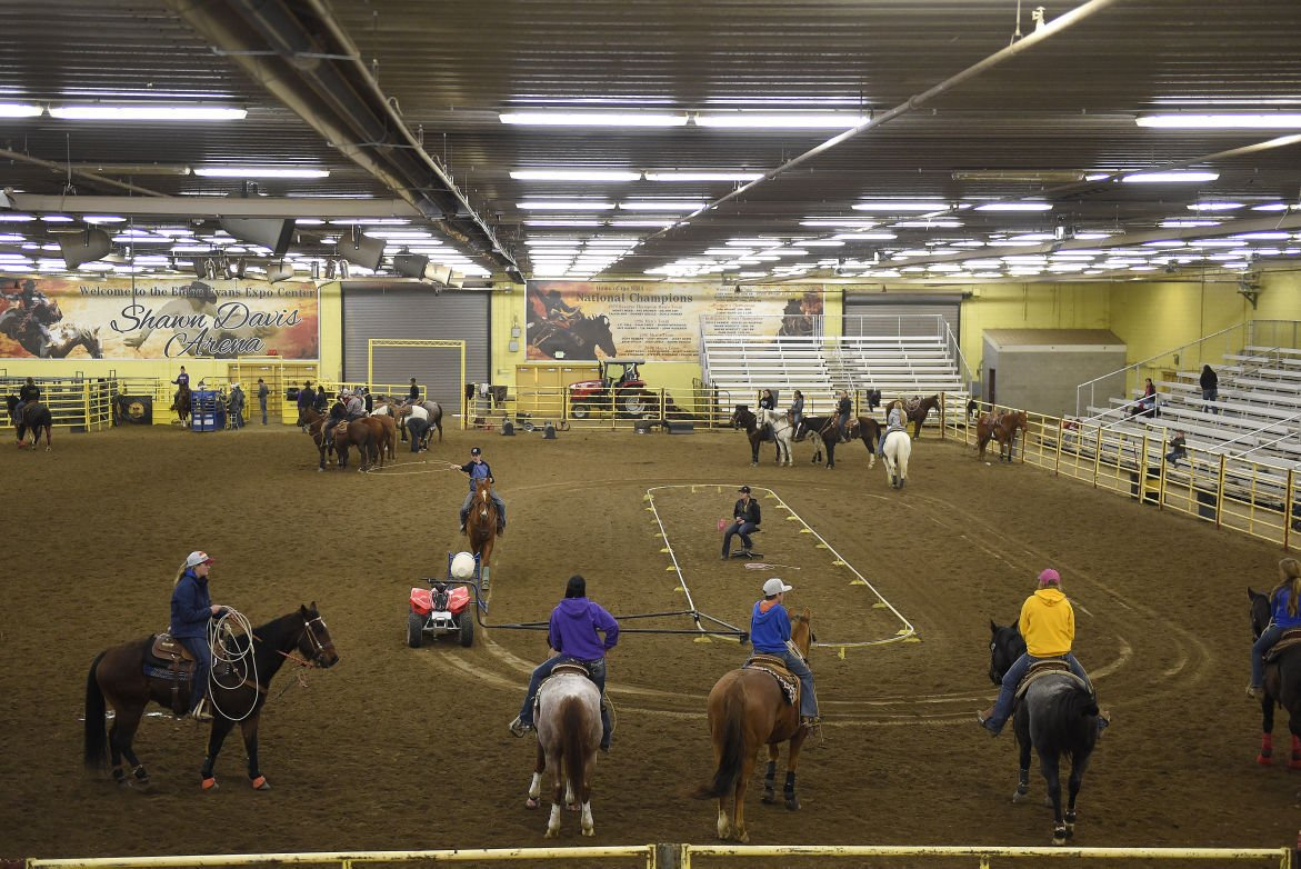 Roping Clinic at CSI