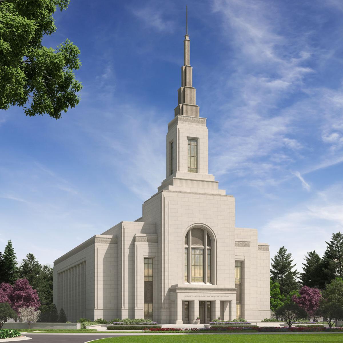 Burley LDS temple
