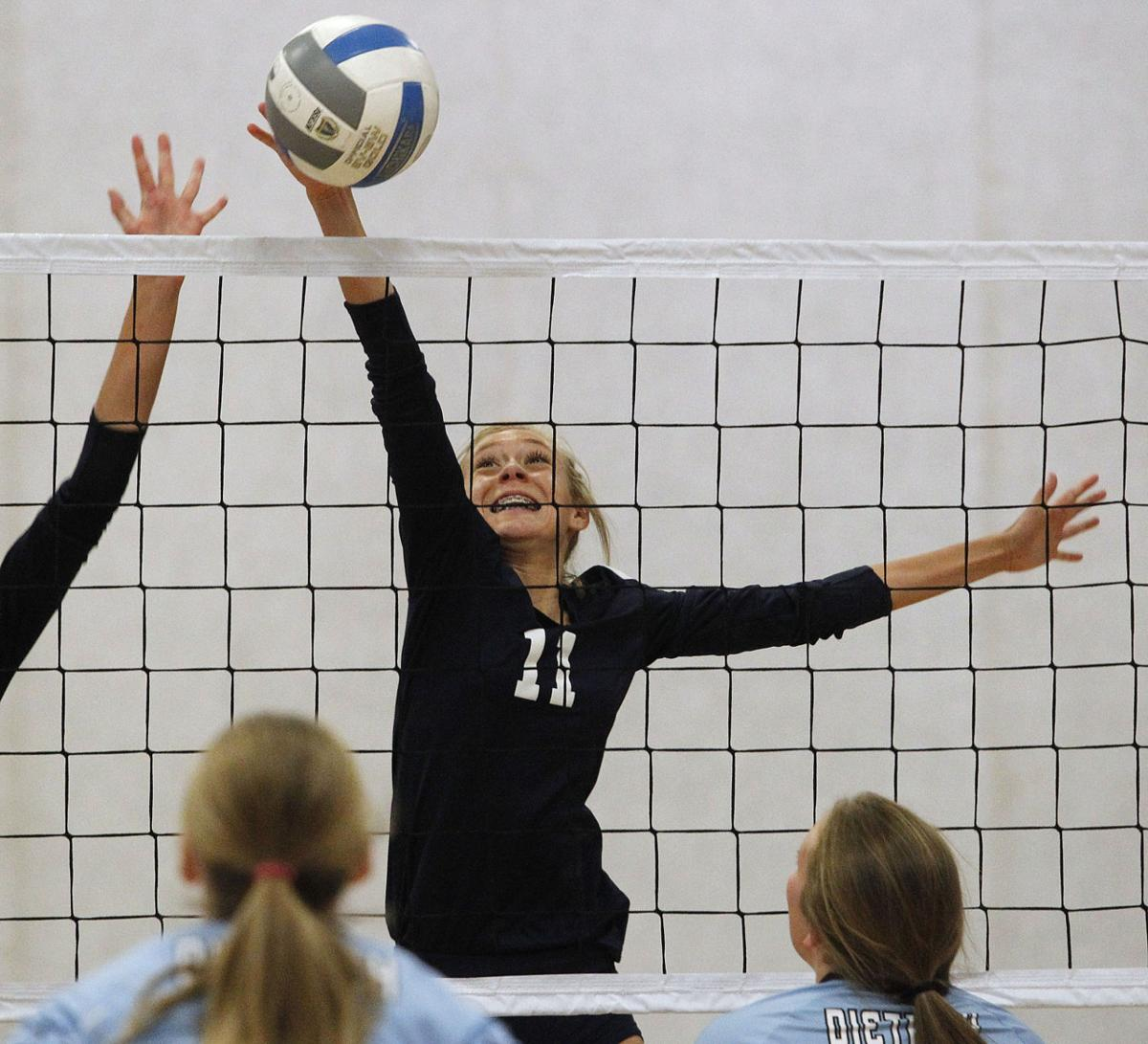 Volleyball - Dietrich Vs. Lighthouse Christian
