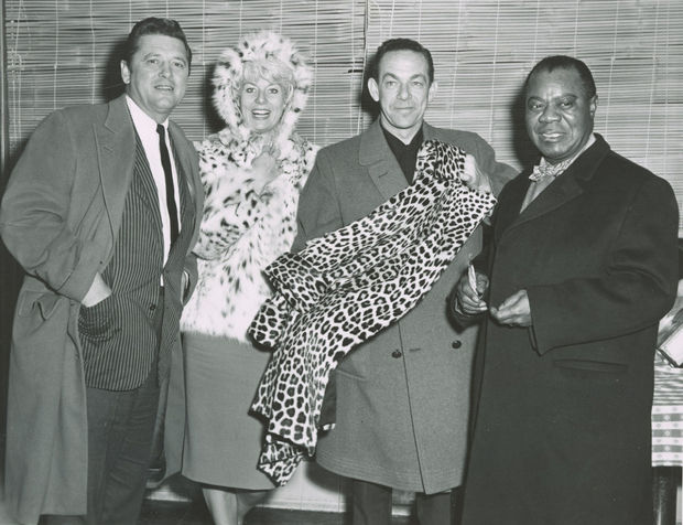 Sheila MacRae and Louis Armstrong in Twin Falls