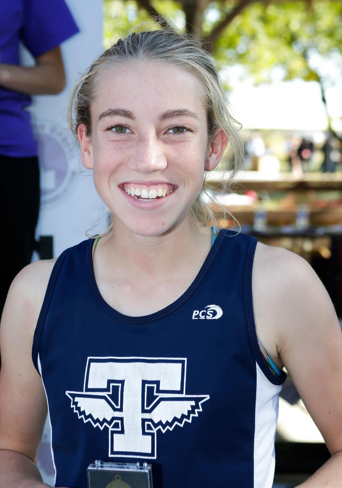 4A cross country championships: Mattalyn Geddes