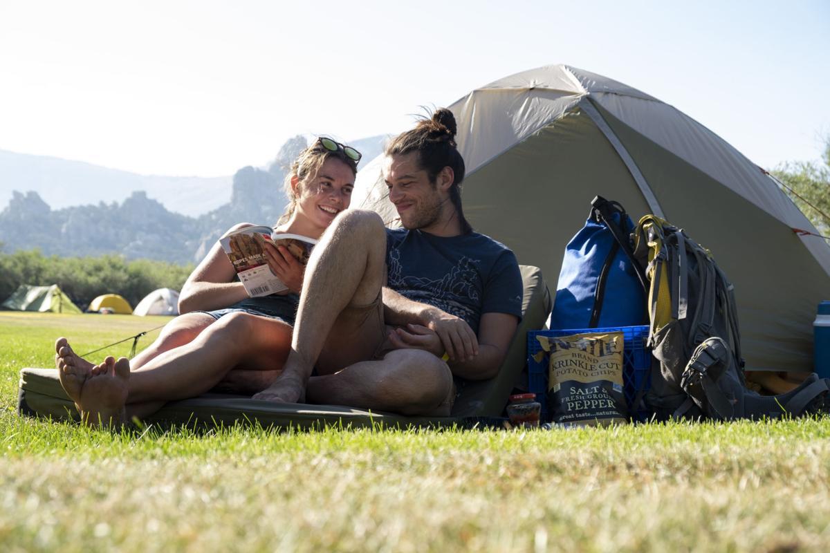 Castle Rocks State Park campers