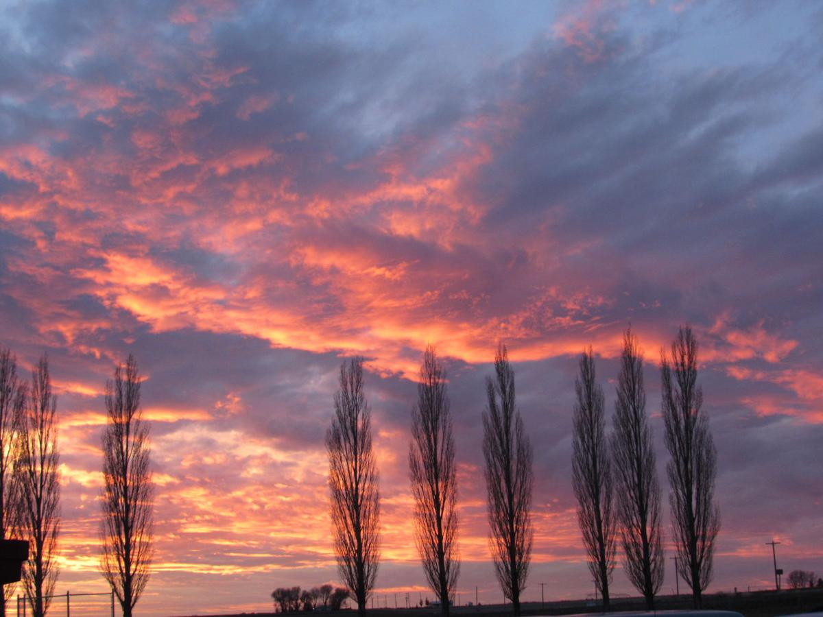 Hazelton sunset