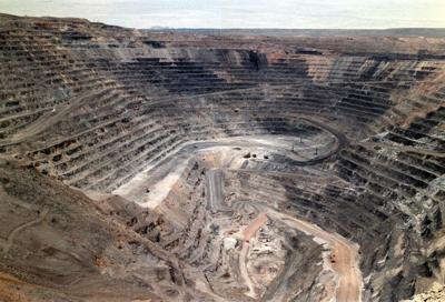 Gold mining Nevada - Barrick