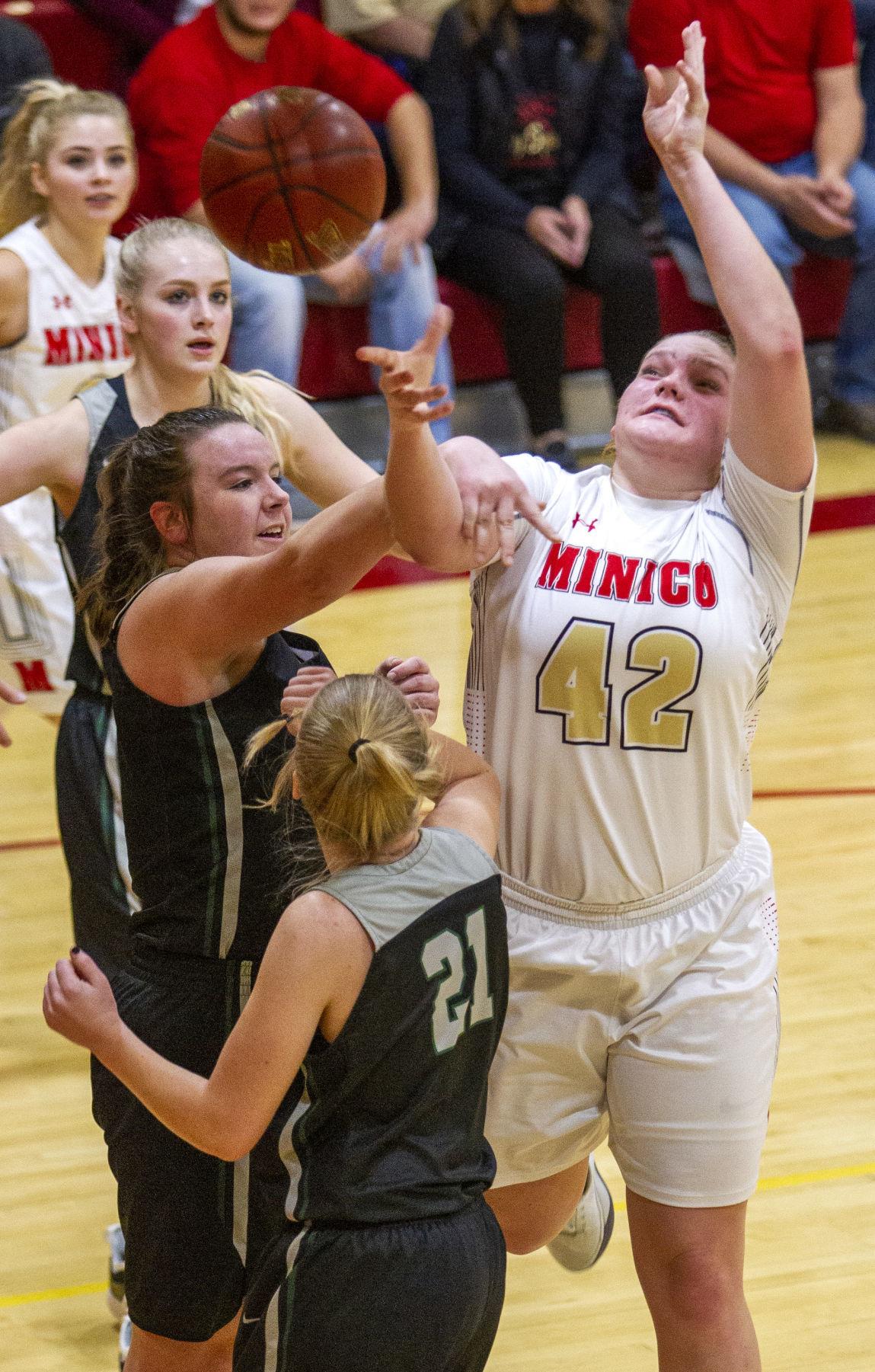 Minico vs Burley girls basketball FILE