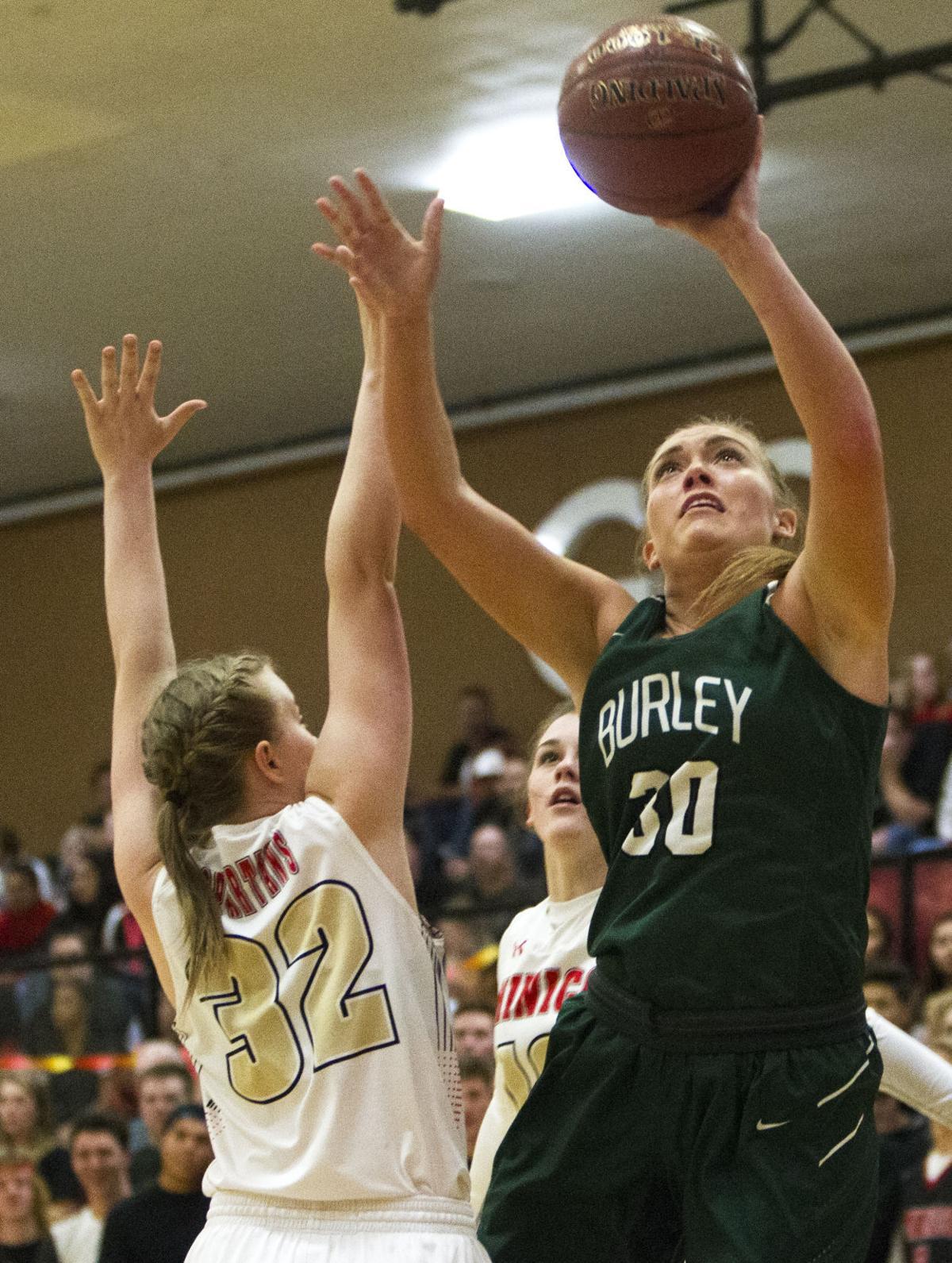 Minico vs. Burley girls basketball