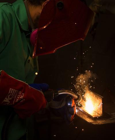 Sparking a career in welding