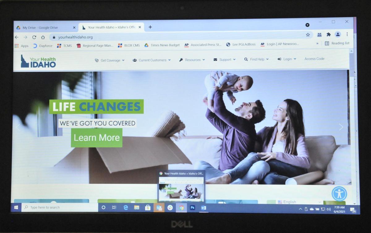 Healthcare exchange website