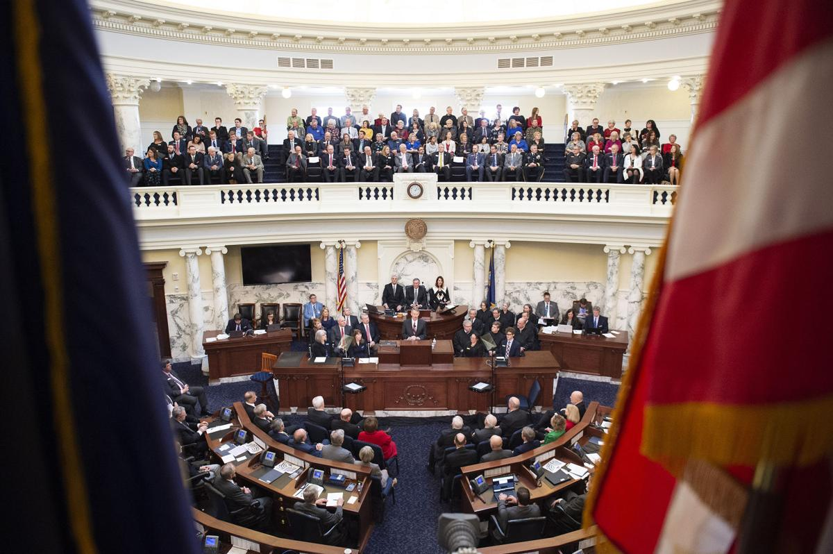 Little gives his first State of the State address