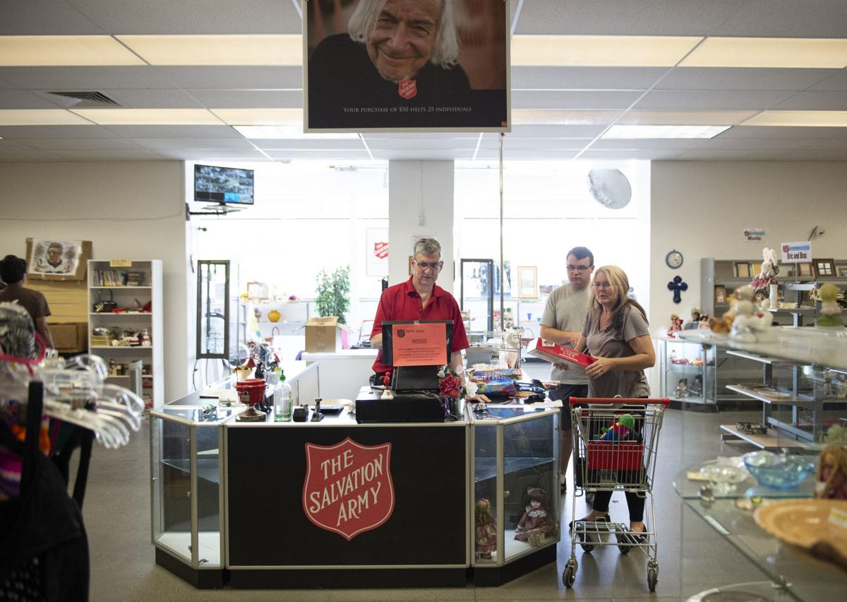 Salvation Army store closing