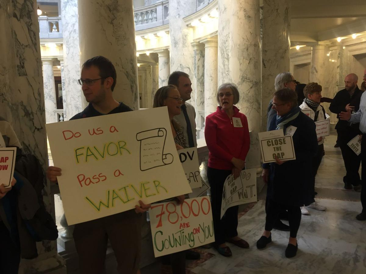 Medicaid Expansion Protesters