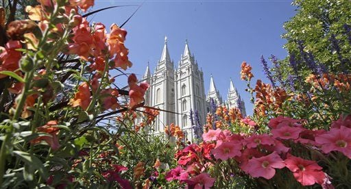 Mormon, LDS, temple. Latter-day Saints