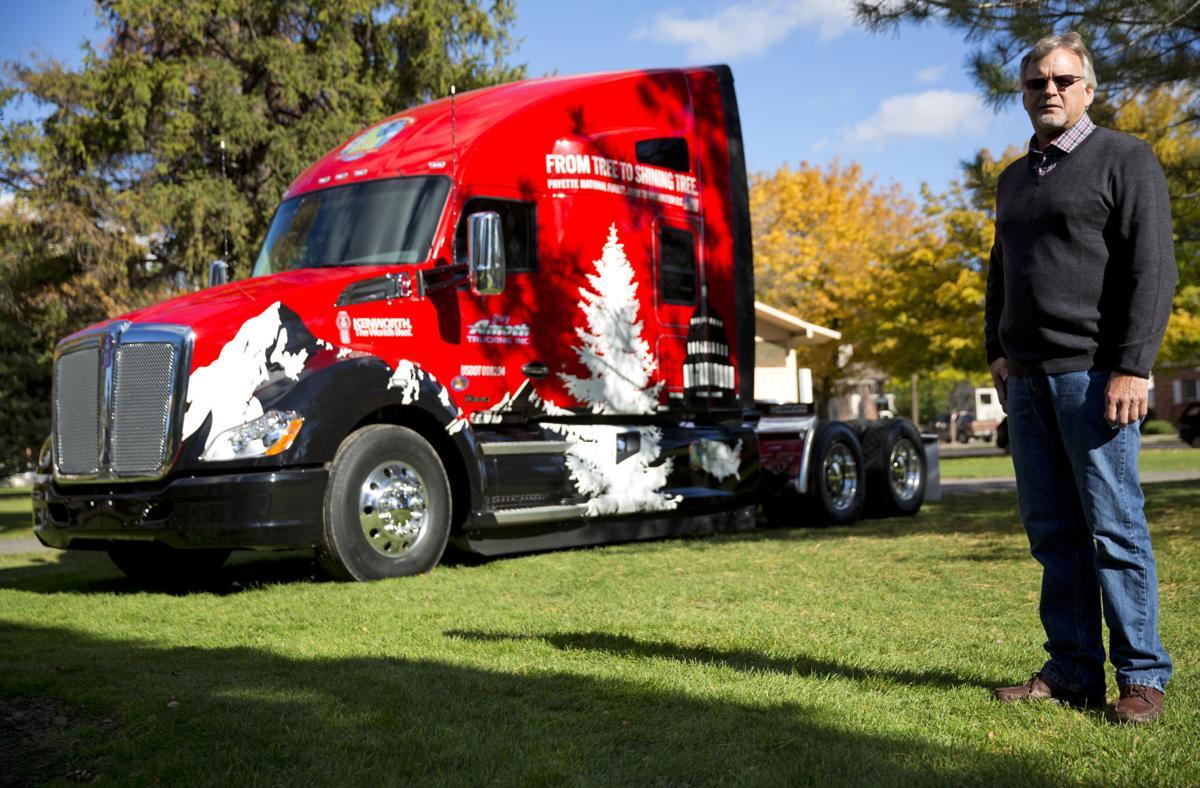 Twin falls truck driver to haul christmas tree across u s