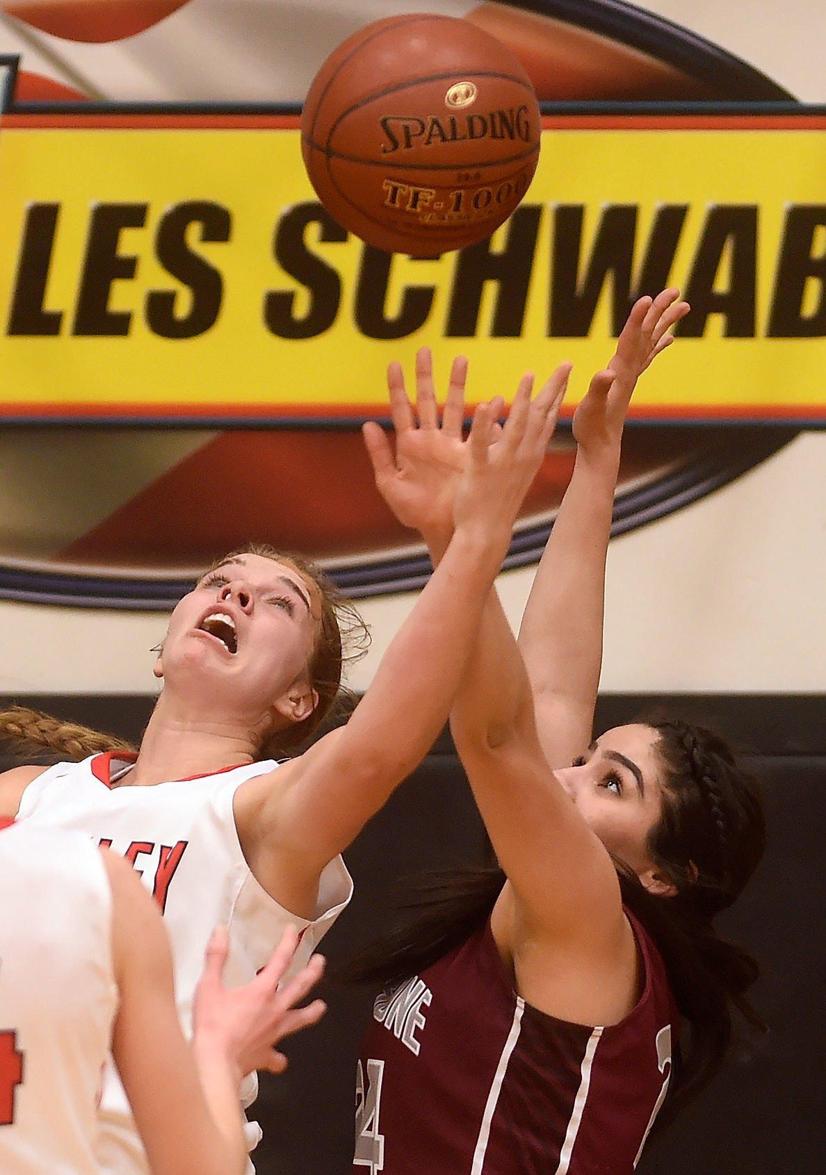 Girls Basketball - Oakley Vs. Shoshone