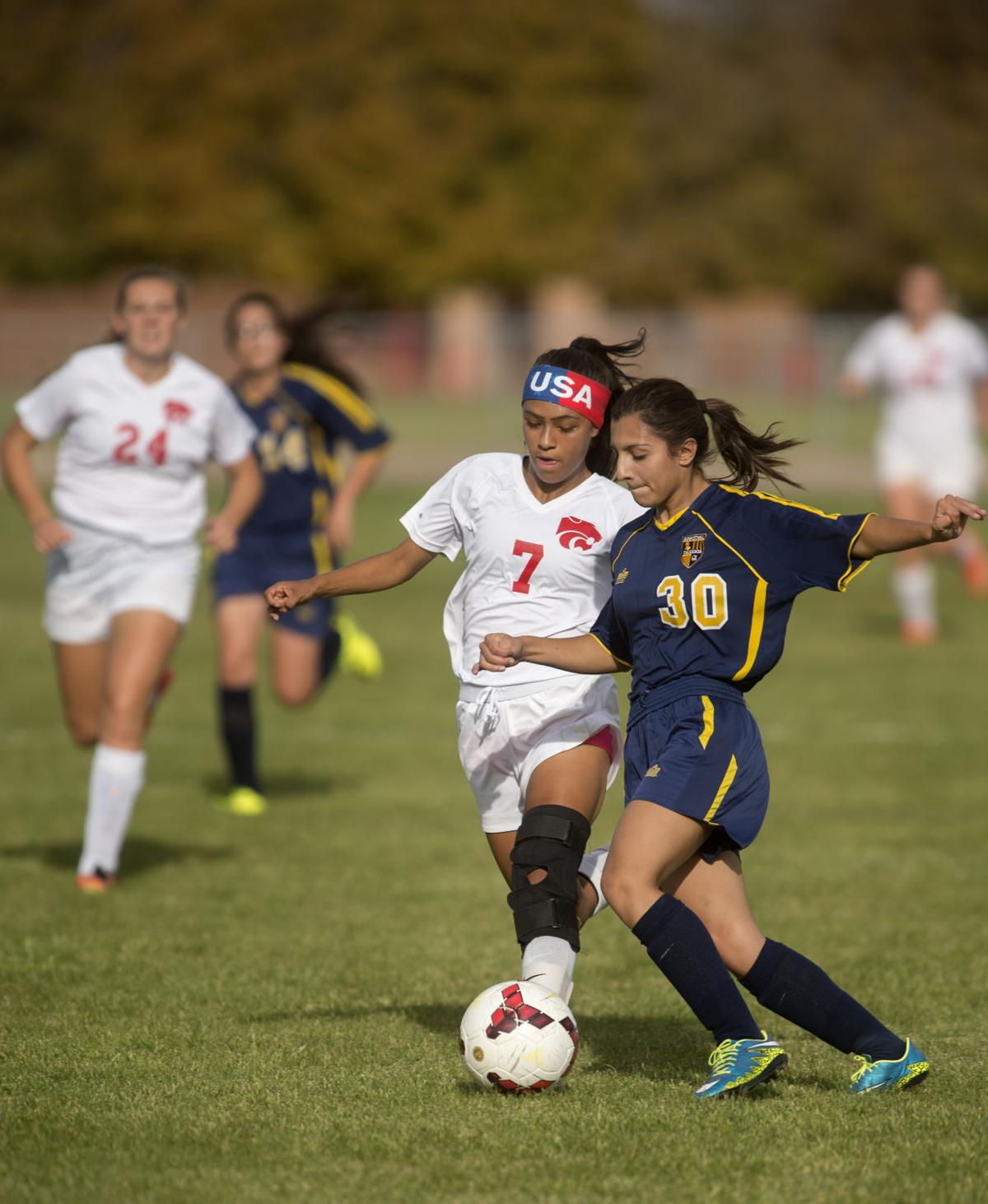 Girls Soccer - Wendell Vs. Filer