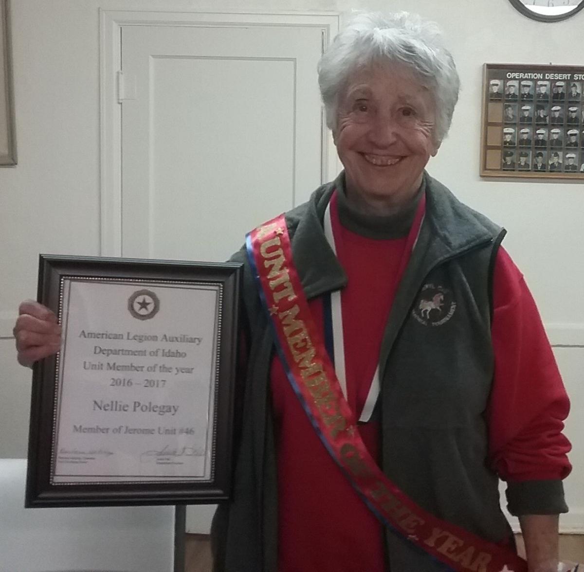 American Legion Auxiliary award